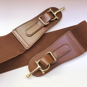 Brown Equestrian-style Belt size sm